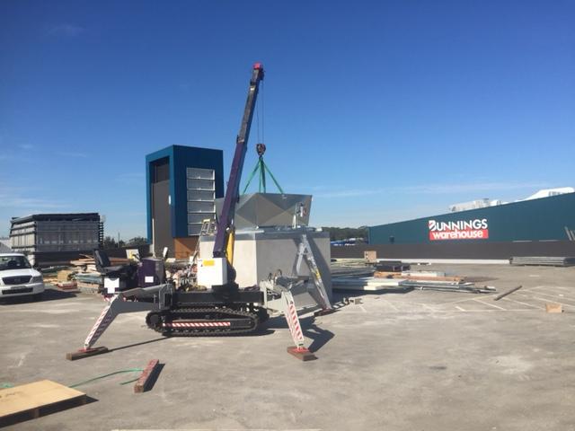 3 tonne crawler crane